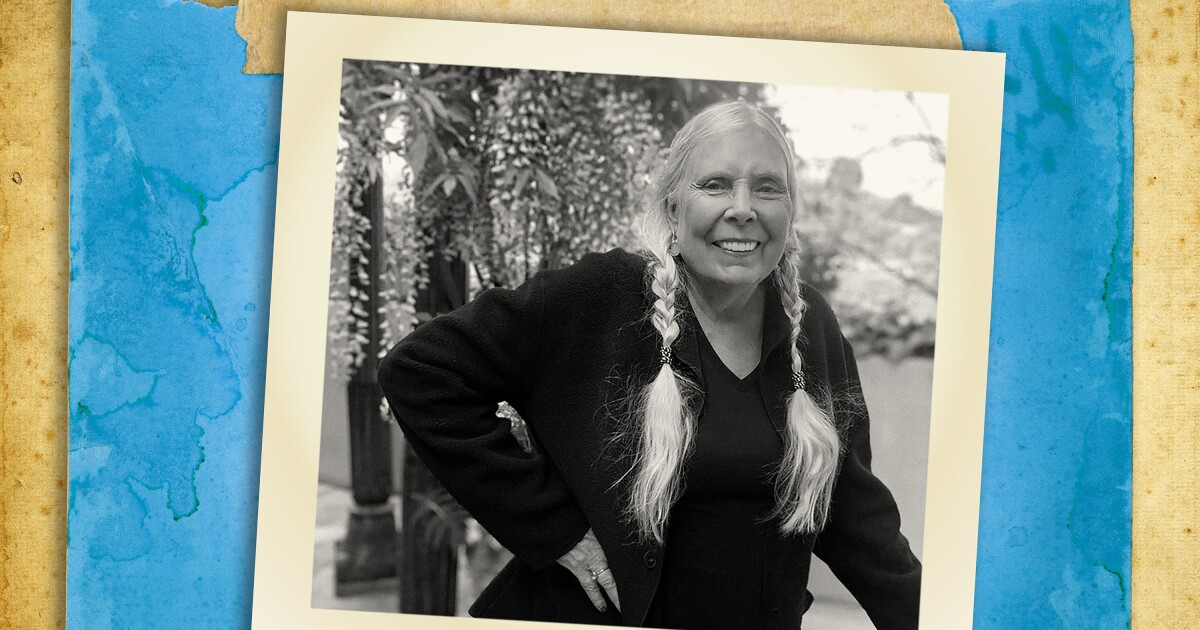 Joni Mitchell opens up to Cameron Crowe about singing again, lost loves and 50 years of 'Blue'