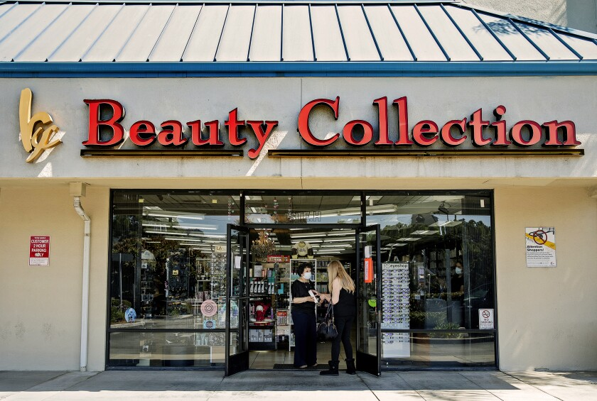 Janet Tavakoli opened her Sherman Oaks Beauty Collection emporium for in-store shopping in early May, violating Los Angeles' Safer-at-Home order.
