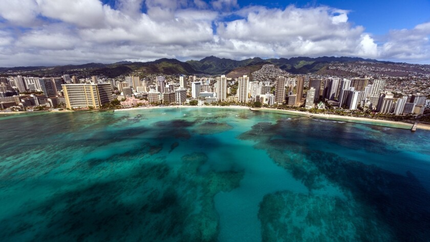 Travelers who visit Hawaii during the pandemic must self-quarantine for 14 days, according to the governor's order.
