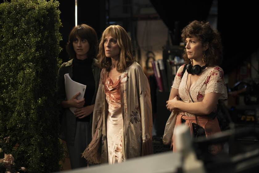 "Hannah Pearl Utt, Judith Light and Jen Tullock in a scene from ""Before You Know It."""