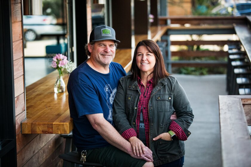 Jeff and Dande Bagby of Bagby Beer Company