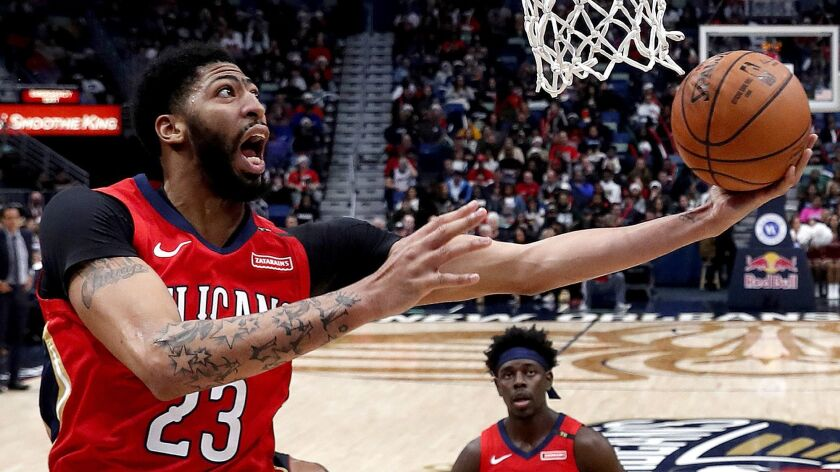 Pelicans forward Anthony Davis will be playing in his sixth NBA All-Star game on Sunday.