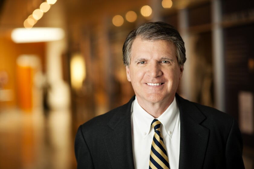 Local resident Bill Littlejohn oversees philanthropy and fundraising for Sharp HealthCare,