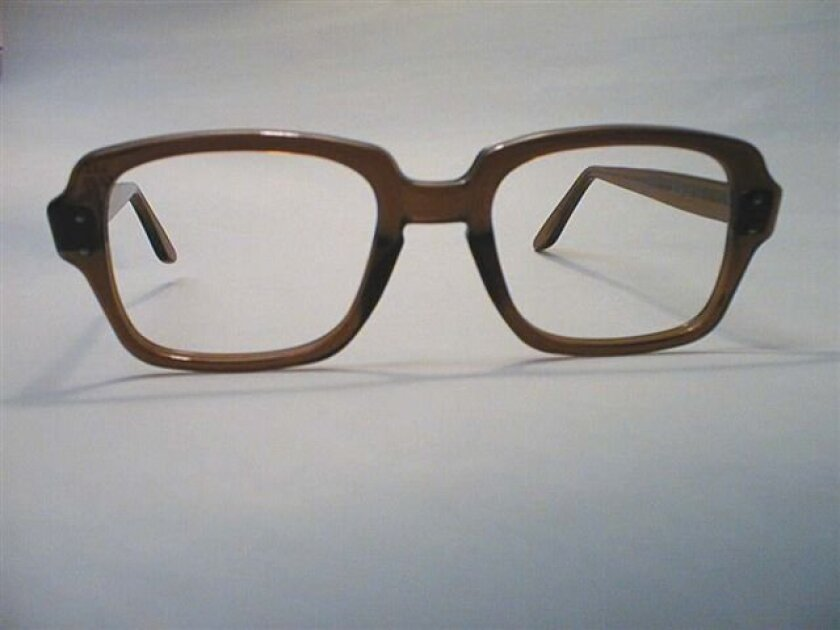 The old-school version, AKA birth control glasses.