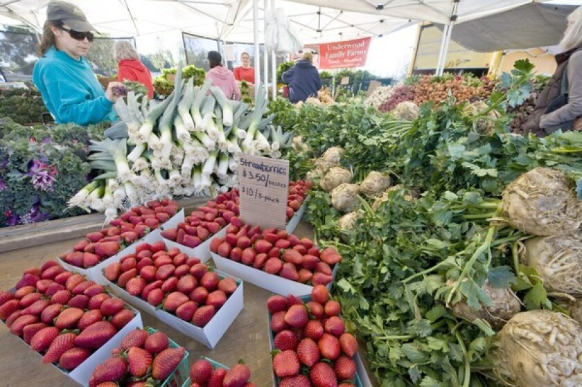 The Pasadena farmers market will remain open.