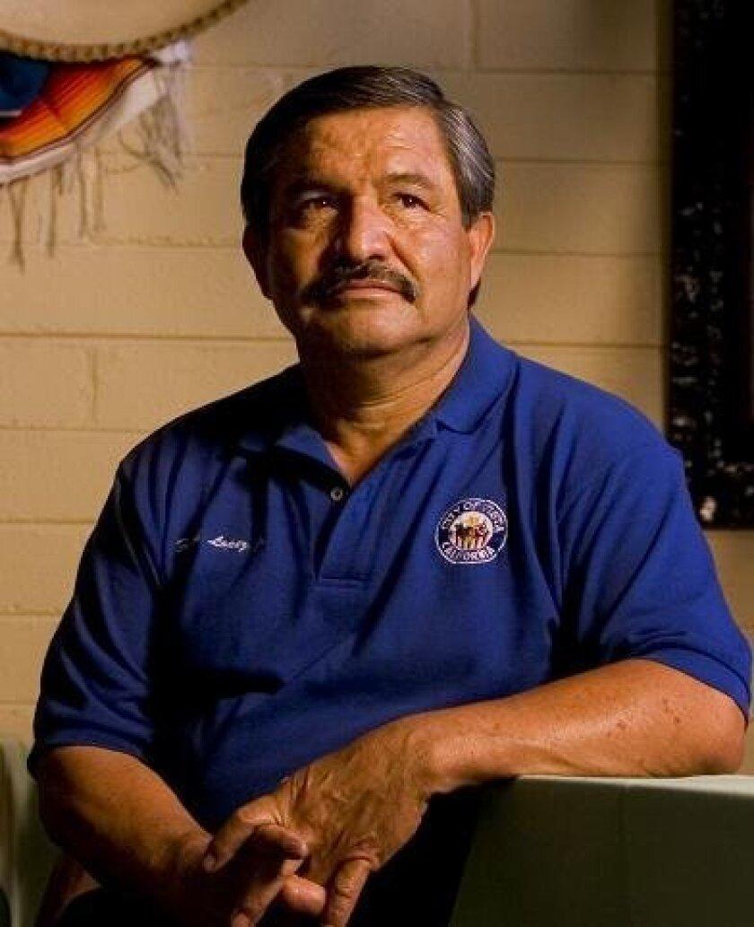 Frank Lopez at Casa Linda
