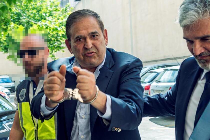 """El empresario mexicano Alonso Ancira, detenido en Palma se enfrenta en México a acusaciones por delitos que causaron """"grave daño patrimonial"""" a la compañía estatal Petróleos Mexicanos (Pemex). EFE/Cati Cladera/Archivo"""