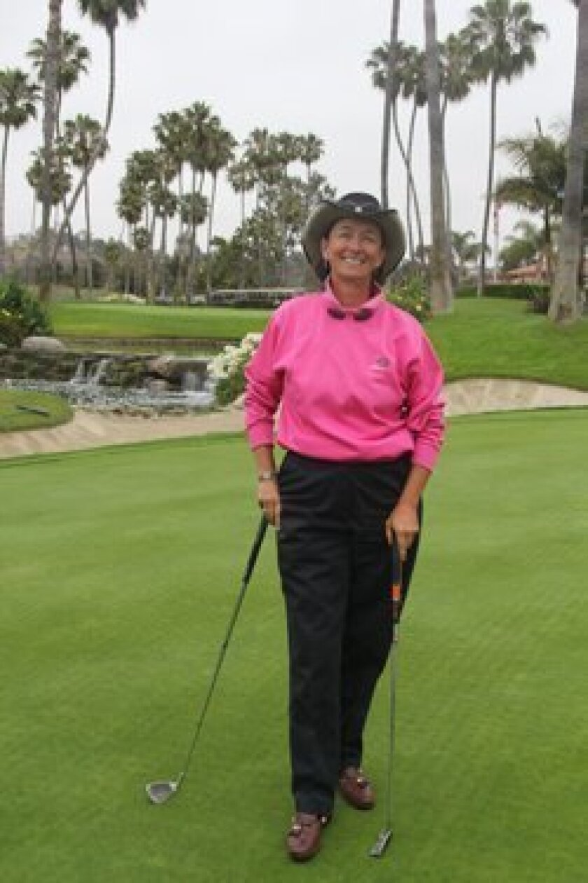 Andrée Martin is the new director of golf instruction at Fairbanks Ranch Country Club.  Photo: Karen Billing