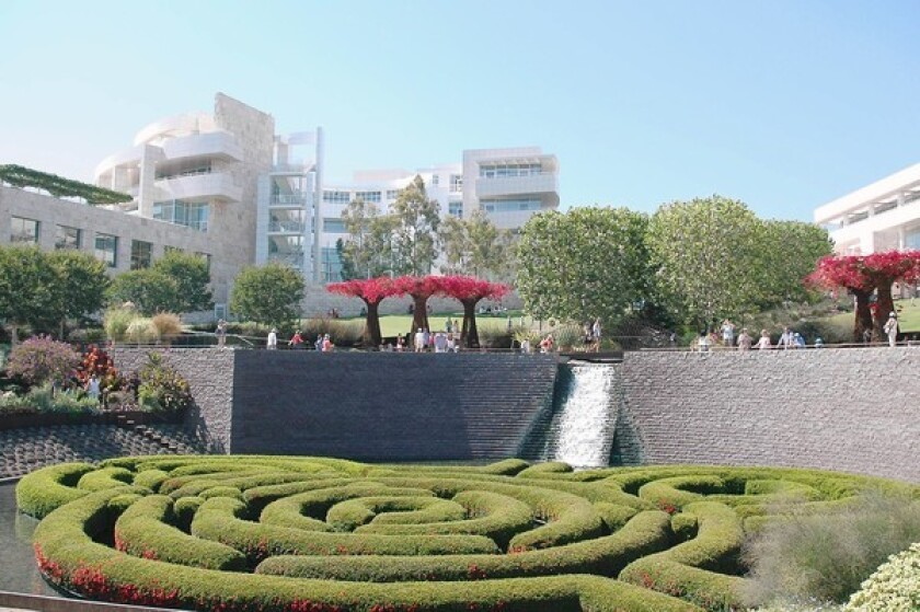 The Getty Center campus in Brentwood.