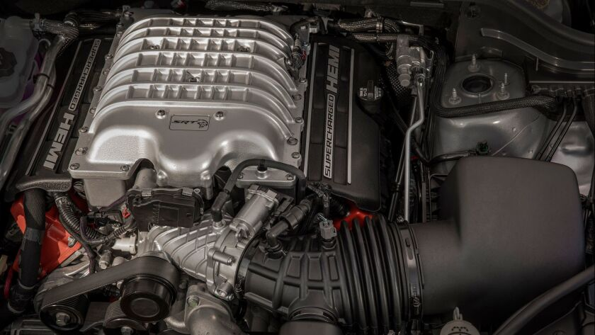 Powering the 2018 Jeep® Grand Cherokee Trackhawk is a supercharged 6.2-liter V-8 engine delivering