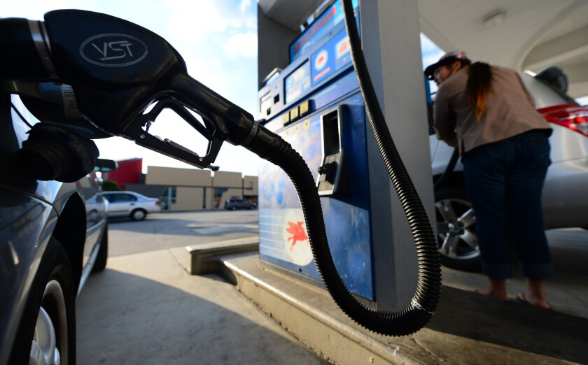Gas prices nationwide have risen 13 cents over the last week, according to the AAA Fuel Gauge Report.