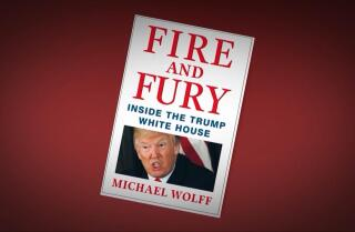 Trump's lawyer tries to block publication of book about president's chaotic first year