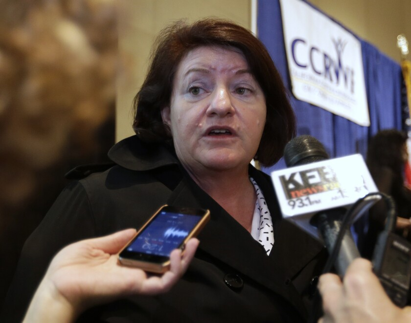 Assembly Speaker Toni Atkins (D-San Diego)is pushing a new plan to fund road maintenance with a new fee on drivers.