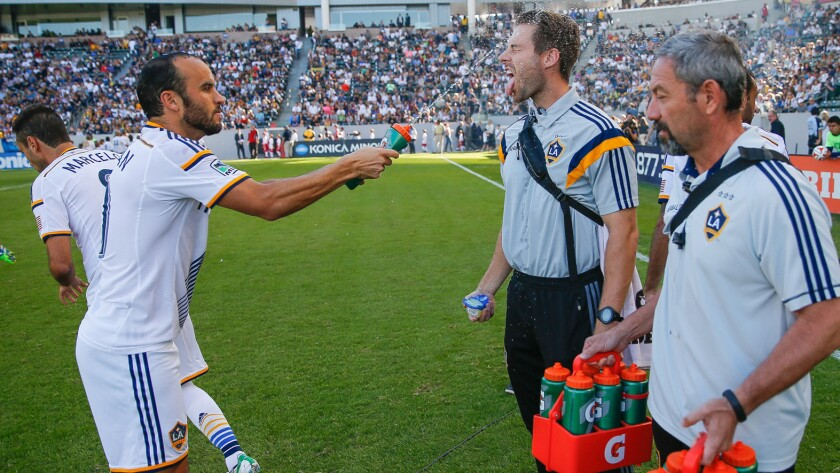 Landon Donovan, Kurt Andrews, Ivan Pierra