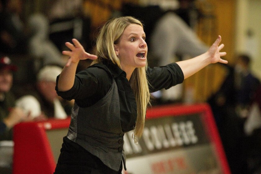 Coach Leigh Marshall has elevated the Palomar College women's basketball team from a winless squad in her first season in 2010-11 to a conference champion in the season that recently ended.