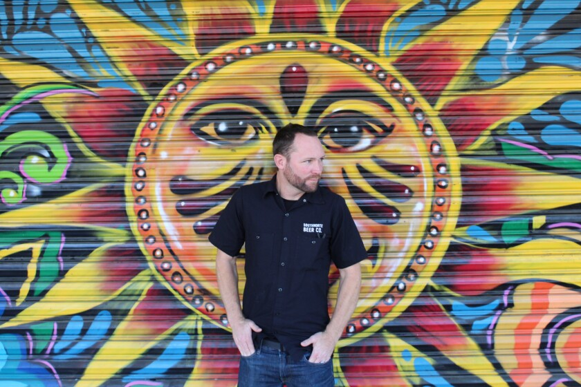 Ryan Brooks is brewmaster at SouthNorte Beer Co.