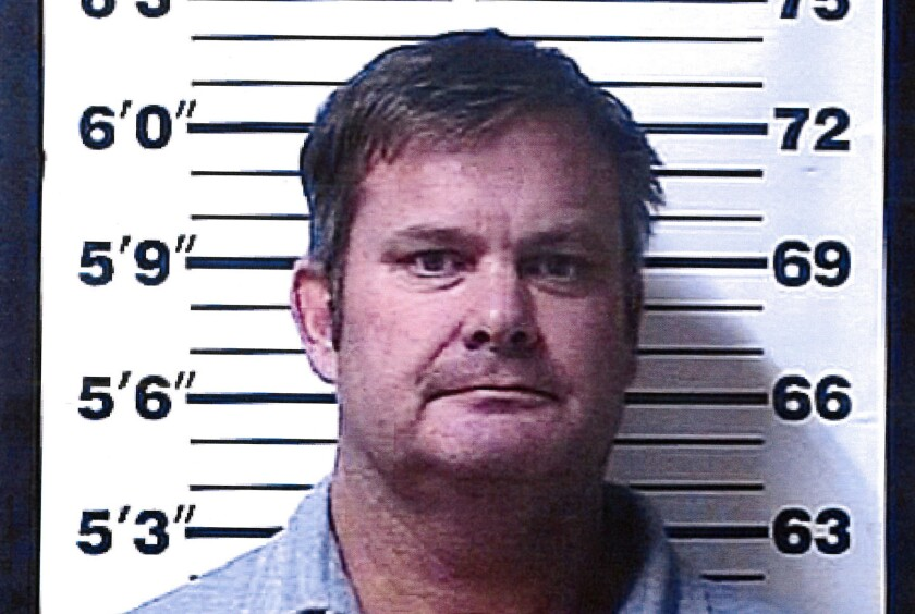 Booking photo of  Chad Daybell, who was arrested June 9, 2020, on suspicion of concealing or destroying evidence