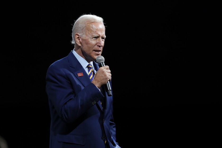 New Hampshire Election 2020.With Rivals Heading To California Biden Eyes New Hampshire