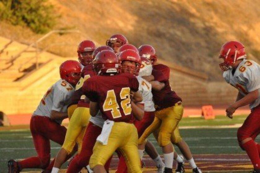 TPHS freshman football team wins again