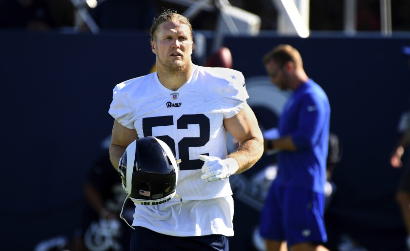 sports shoes 68ffa 9d2d7 Clay Matthews plans to be a headliner again with the Rams ...