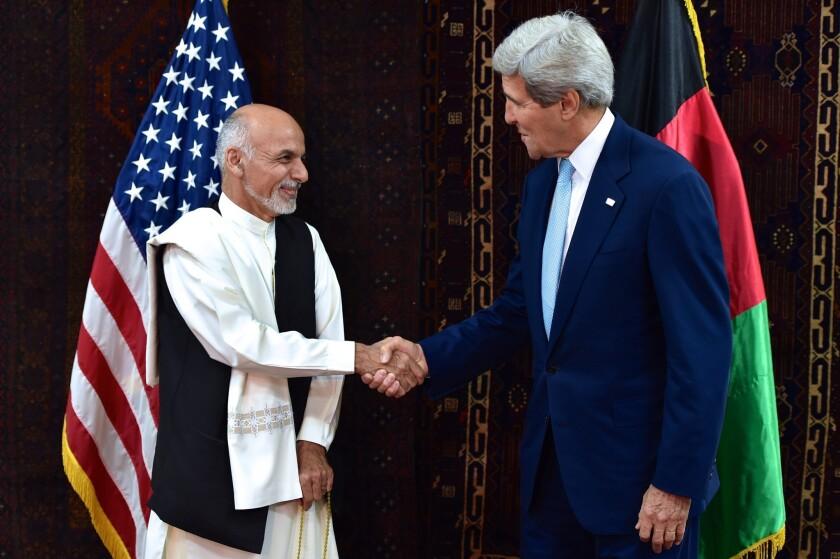 John F. Kerry in Afghanistan