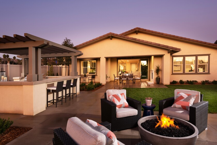 Oak Creek, a new gated community in Vista, is offering a variety of winter incentive packages on select single-family homes.