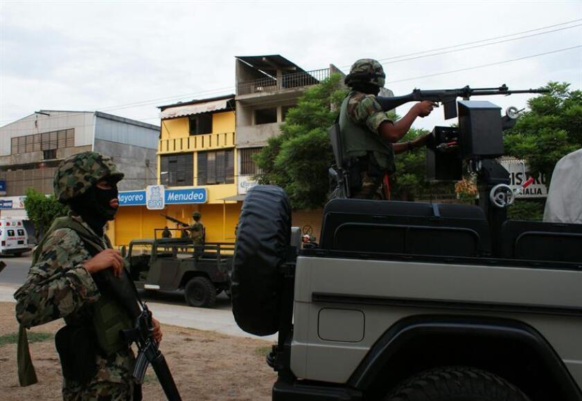 Según datos del Secretariado Ejecutivo del Sistema Nacional de Seguridad Pública (SESNSP), entre los meses de agosto y septiembre se registraron 14 asesinatos de mujeres en Acapulco, ante esos datos y la escalada de violencia las autoridades locales implementaron talleres de defensa personal para mujeres. EFE/Archivo