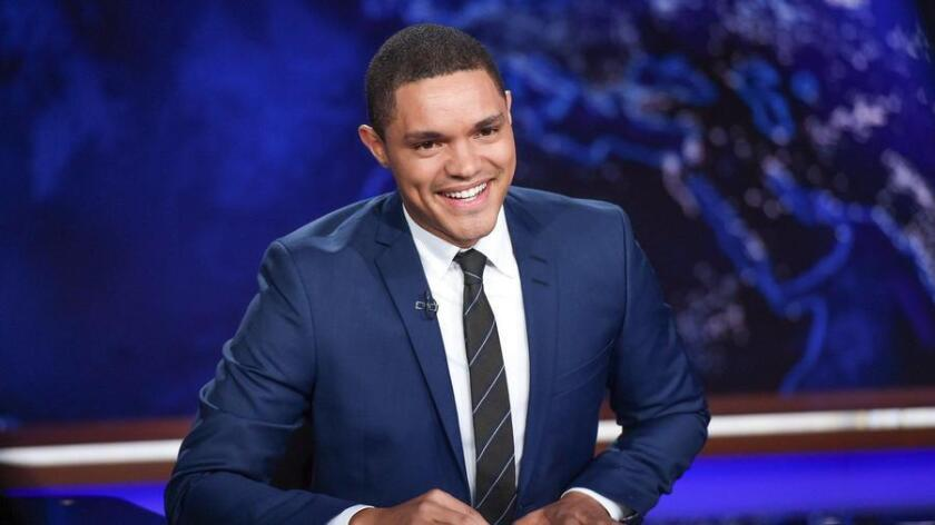 """Trevor Noah, the successor to Jon Stewart, brings a biracial South African perspective to """"The Daily Show."""" (Evan Agostini)"""