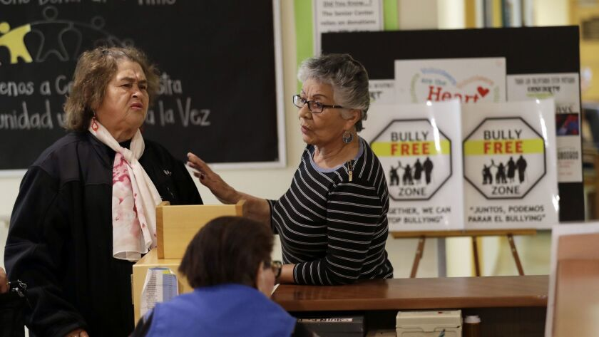 After problems at the On Lok Street Senior Center in San Francisco, staff members received 18 hours of training on how to manage such conflicts. Seniors were then invited to similar classes teaching them to alert staff or intervene themselves if they witness bullying.