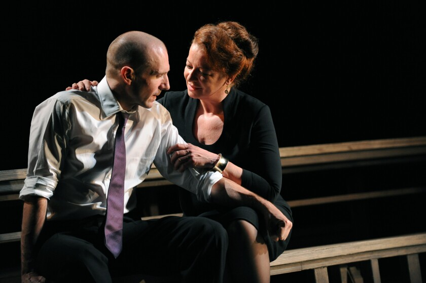 """""""Oedipus"""" at the National Theatre in London"""