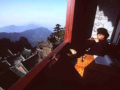 In the Wudang Mountain Range