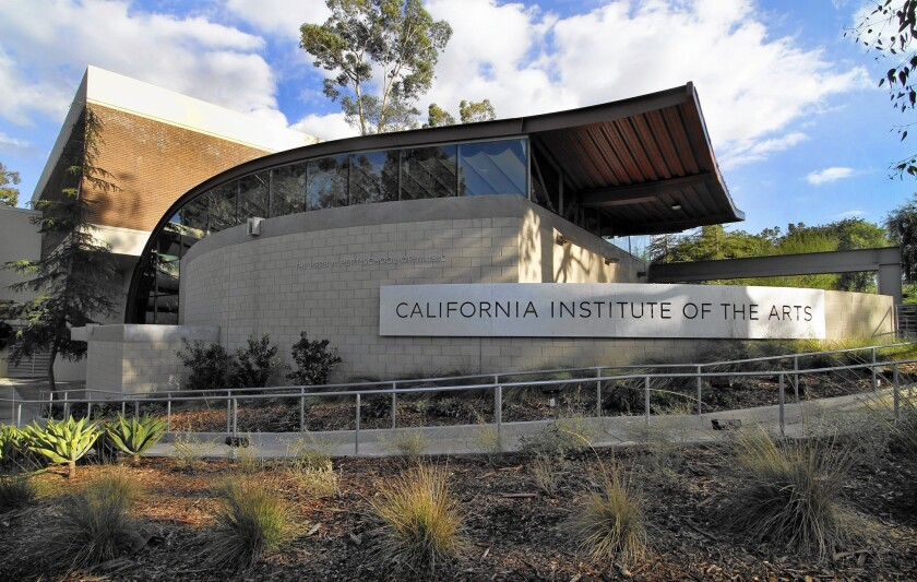 CalArts was founded with the idea of being a Caltech of the arts.