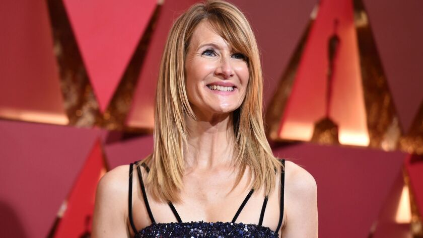 Laura Dern, a governor for the film academy's actors branch, at the 2017 Oscars. The actress is bein