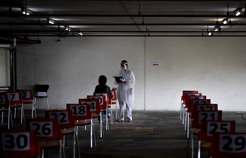 APTOPIX Virus Outbreak Thailand