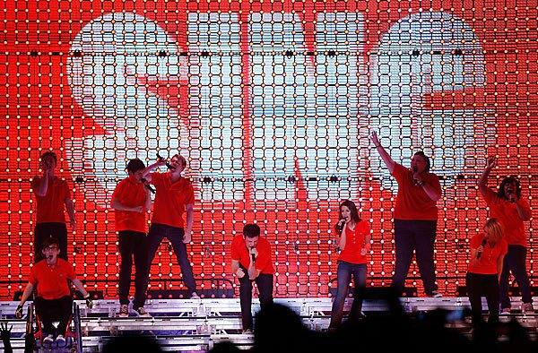 'Glee' cast concert tour