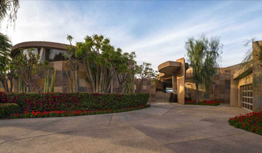 Palm Desert home of Jerry Weintraub