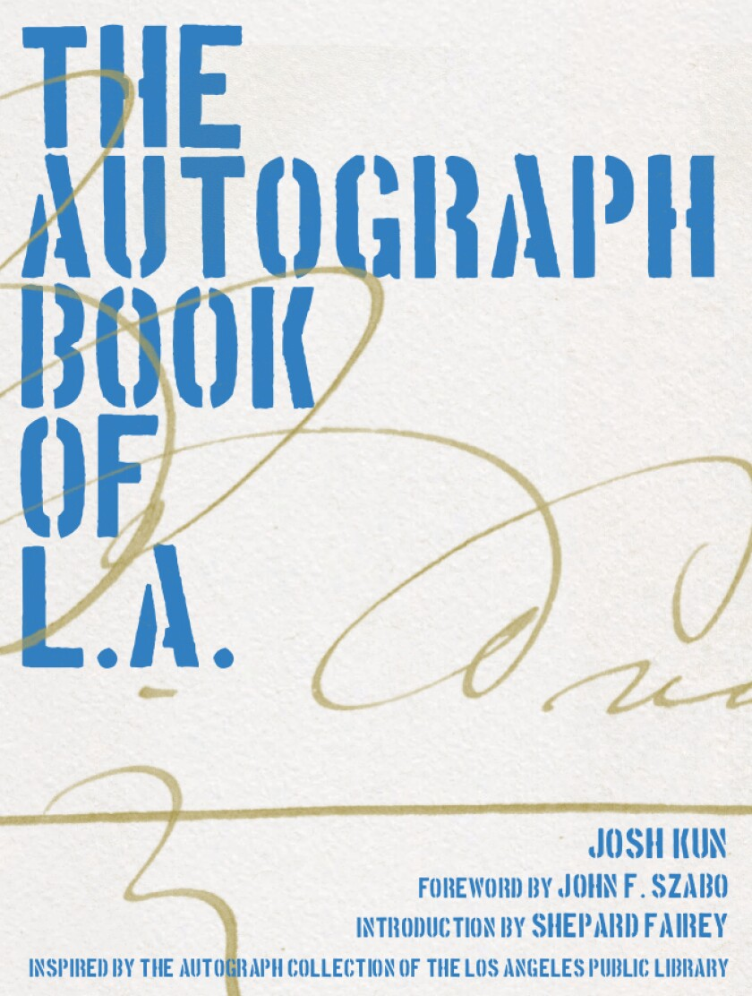 The Autograph Book of L.A. book cover