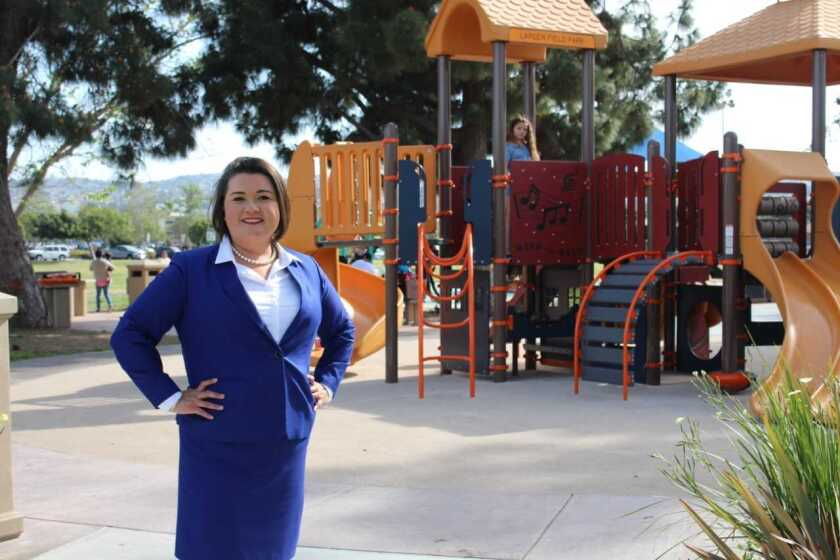 Vivian Moreno is a candidate in the San Diego City Council, District 8, race slated for election June 5.