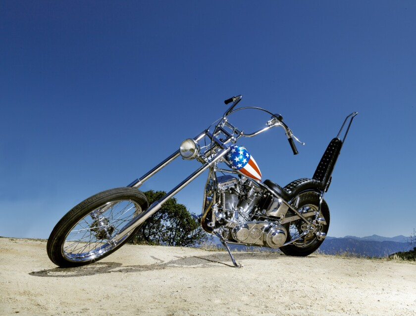 Captain America, from Easy Rider