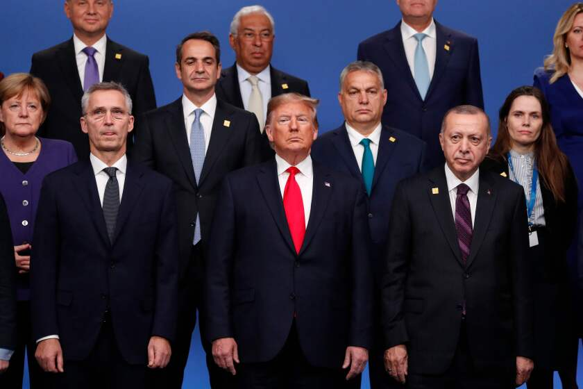 NATO heads of government at Wednesday's summit.