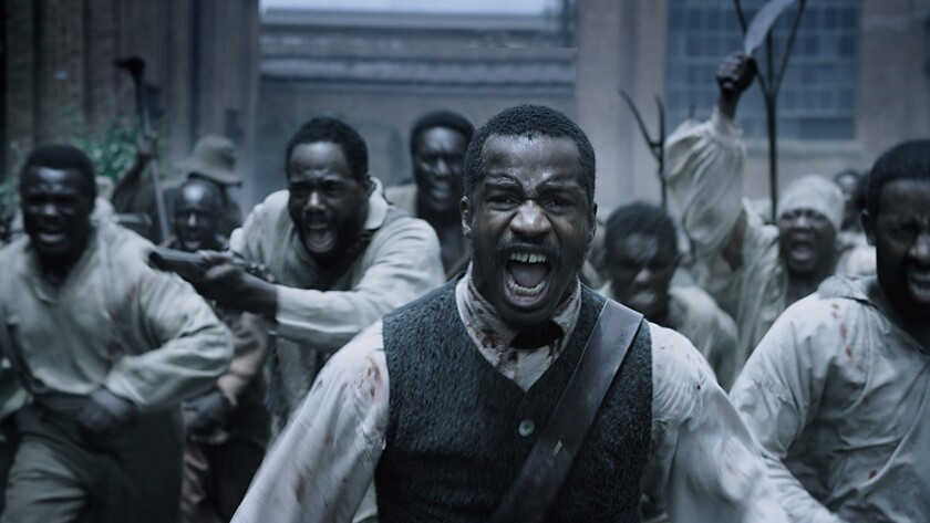 """Nate Parker, director from the film, in a scene from """"The Birth of A Nation."""""""