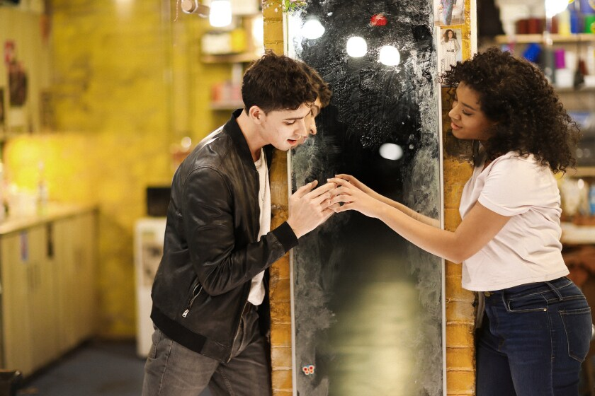 """Powell and Pimentel in the new """"West Side Story."""""""
