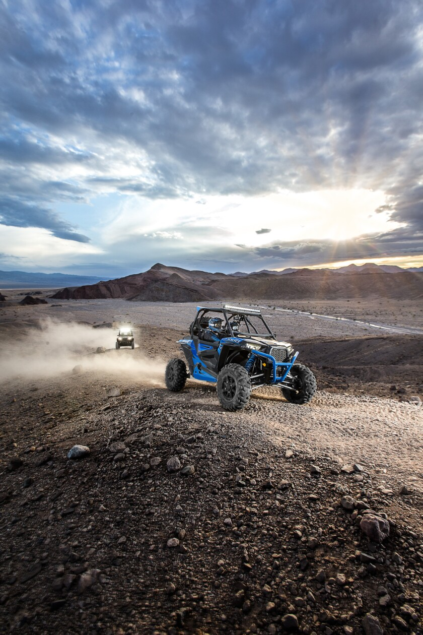 Zero1 Desert Adventures take drivers out of Las Vegas and into the Mojave Desert for tours that last one hour or half a day.