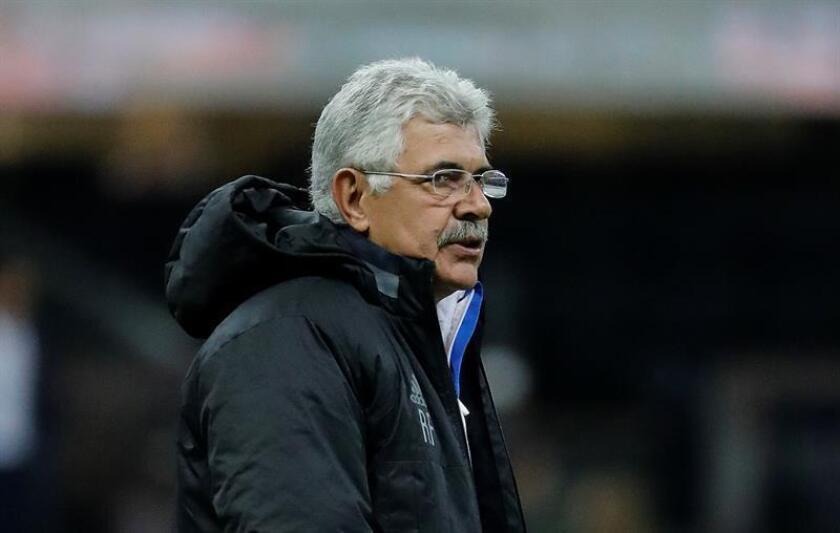 El técnico de Tigres Ricardo Ferretti reacciona durante un partido. EFE/Archivo