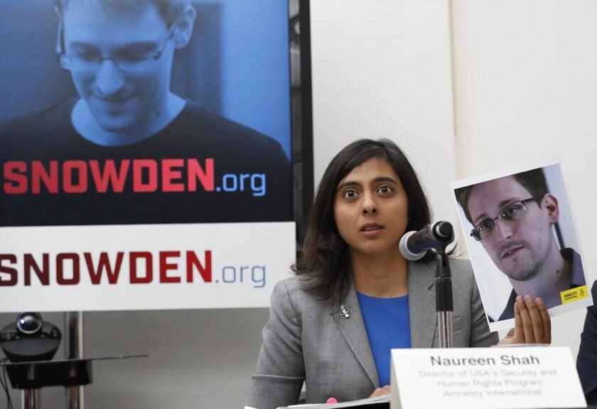 Edward Snowden,Naureen Shah