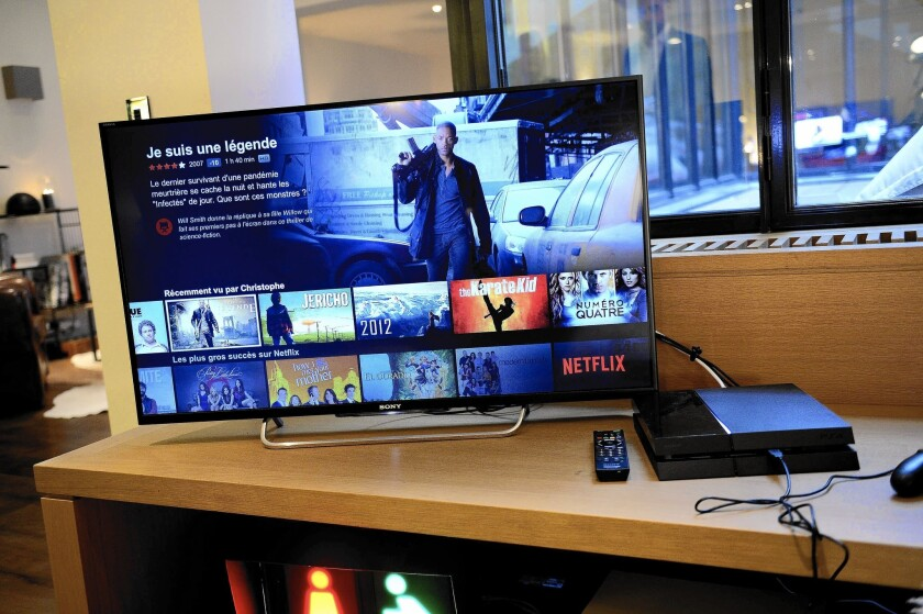 Netflix launches in France