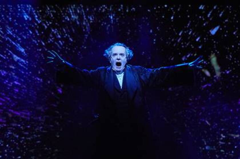 "The La Jolla Playhouse presents a one-man version of ""A Christmas Carol,"" streaming online beginning Saturday, Nov. 28."