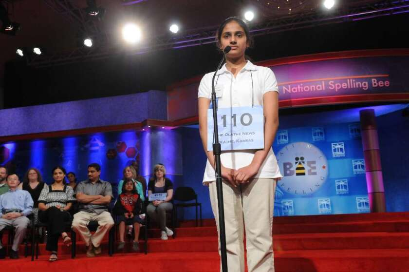 The vicissitudes of the National Spelling Bee