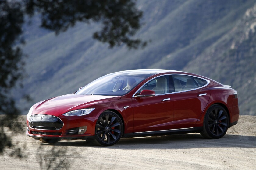 The new Tesla Model S P85D produces extra power with the addition of a second electric motor putting out the equivalent of 691 horsepower. It's priced at $104,500.