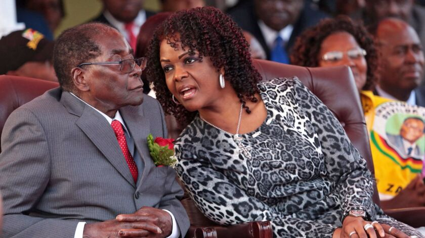 Grace Mugabe claims diplomactic immunity over charges following an alleged assault